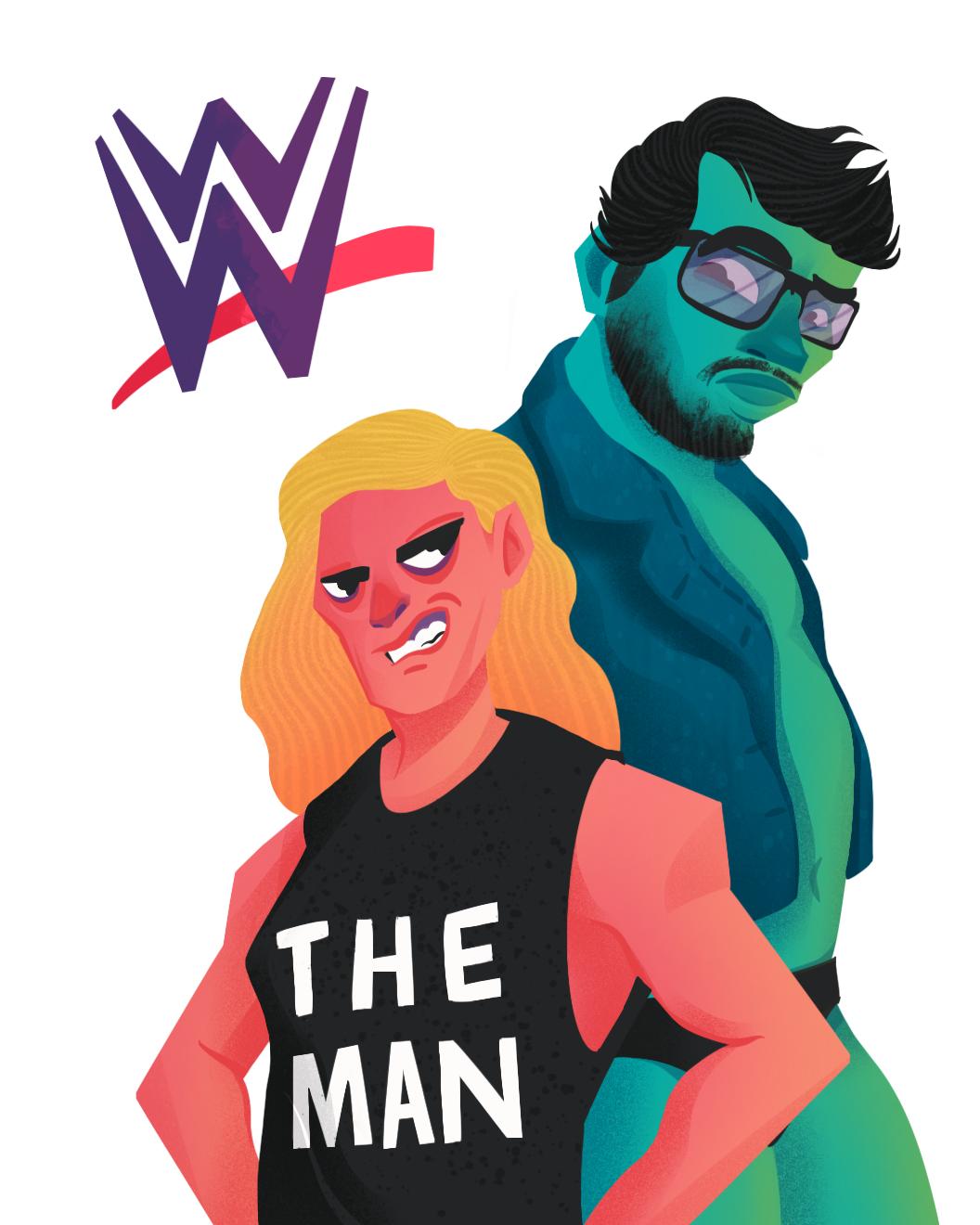 WWE Duo